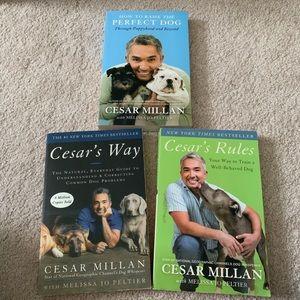 EUC | Cesar Millan Book Bundle